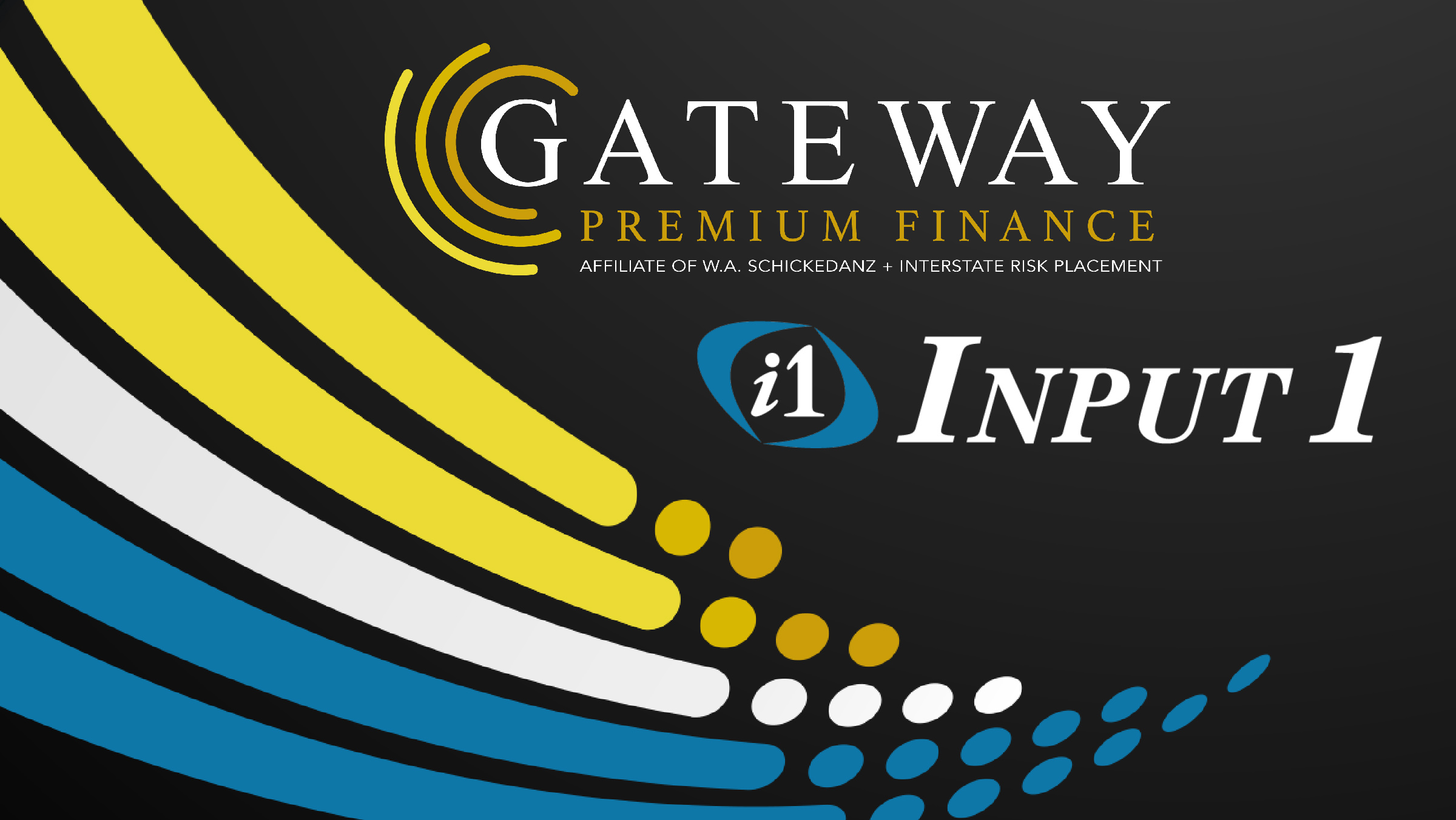 Gateway Premium Budget chooses the Input 1 cloud-based Premium Billing System for its Premium Finance Operation