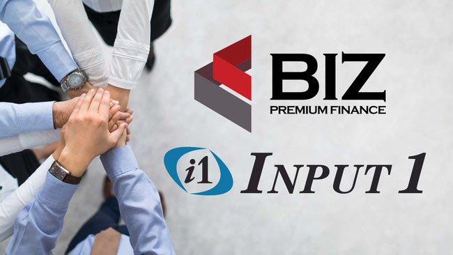 Biz Premium Finance selects Input 1 as an outsourcing partner for its new Premium Finance Business