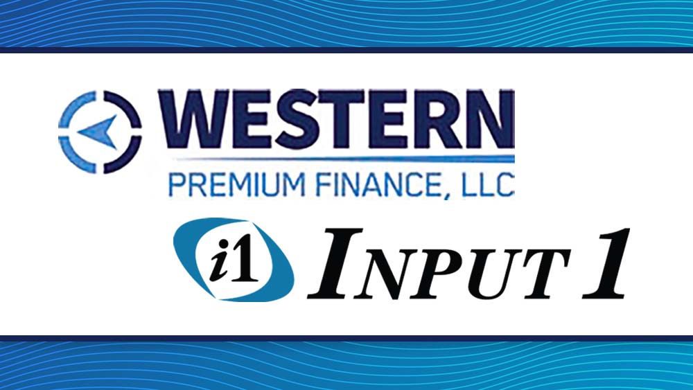 Western Premium Finance Selects Input 1's Digital Billing and Payments System (PBS) to Deliver a Superior Customer Journey